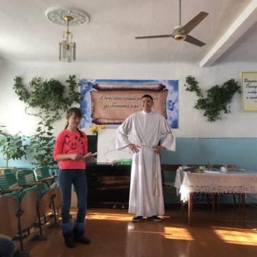 11 февраля. Визит в лютеранские церкви г. Талдыкорган и г. Текели